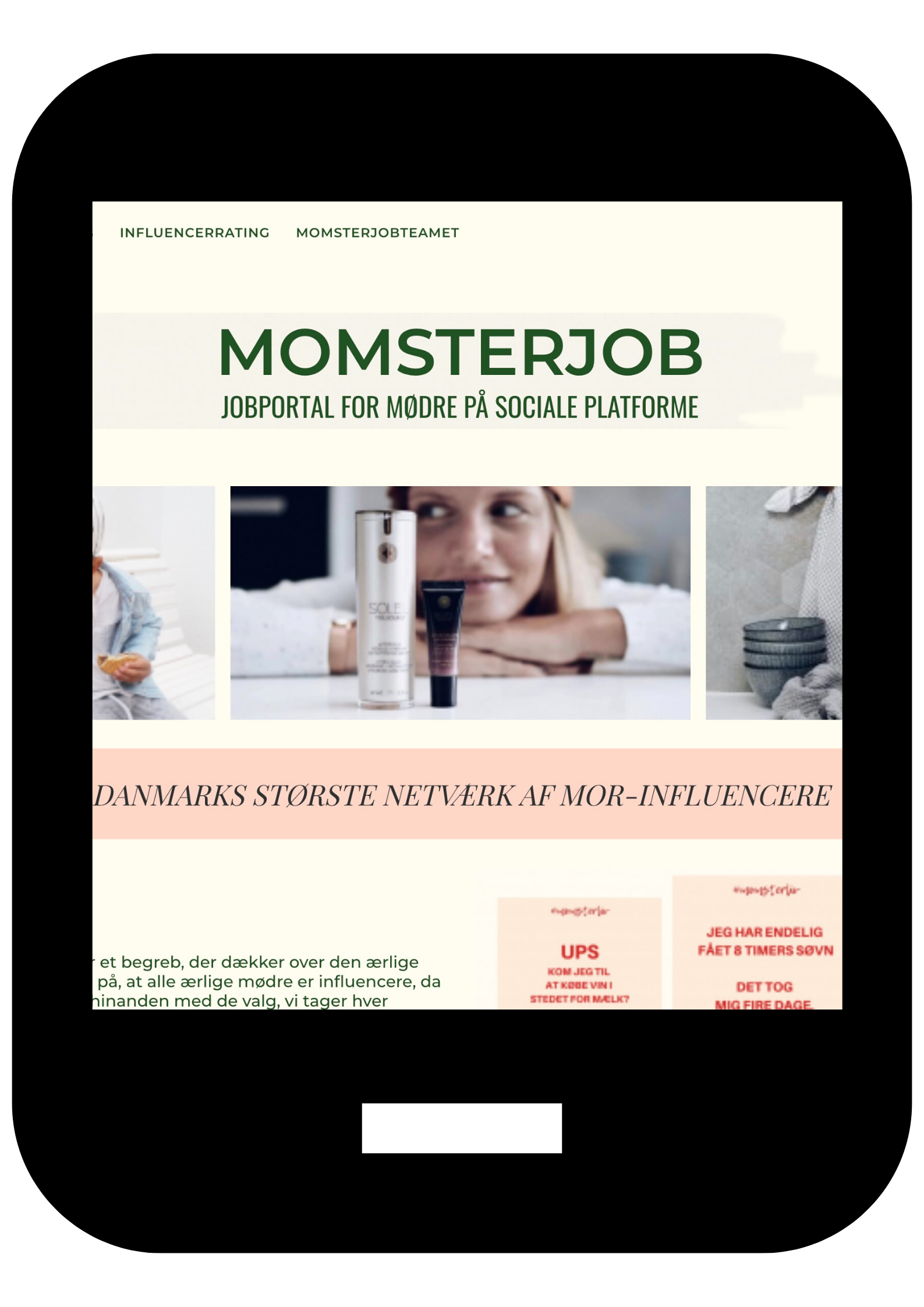 Momster Et digitalt content agency